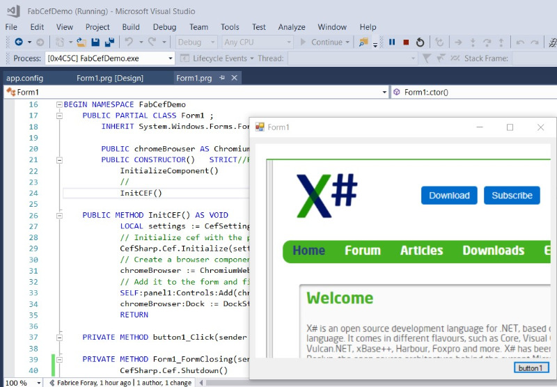 Edge control in an X# application - XSharp Forums - XSharp
