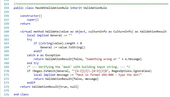 screen 'data input' - masking made easy !? - XSharp Forums