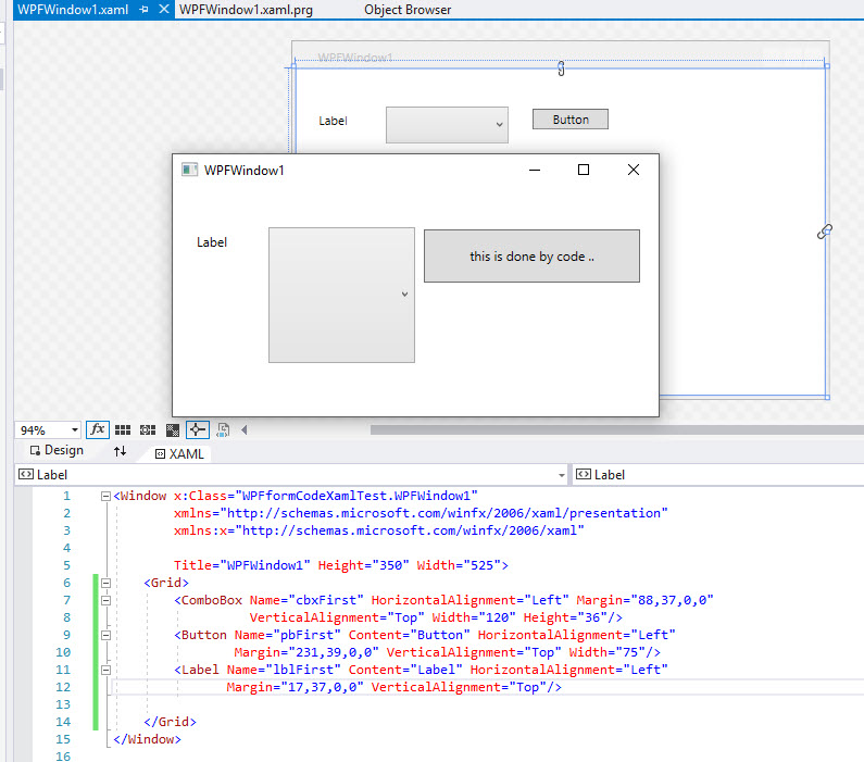 WPF forms - mixing XAMl abd X# code - XSharp Forums - XSharp